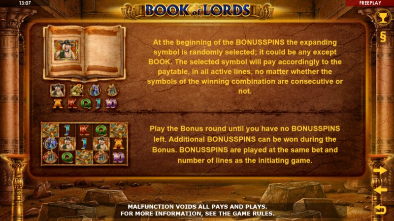 Book of Lords :: Feature Rules