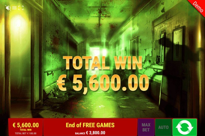 Book of Madness :: Total free spins payout