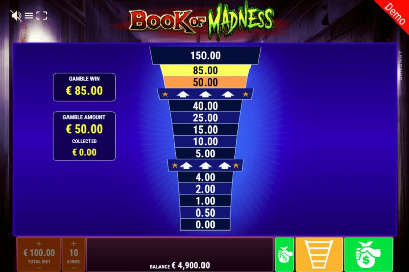 Book of Madness :: Ladder Gamble Feature