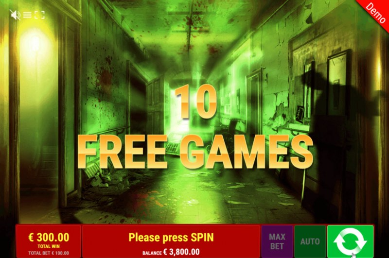 Book of Madness :: 10 Free Spins Awarded