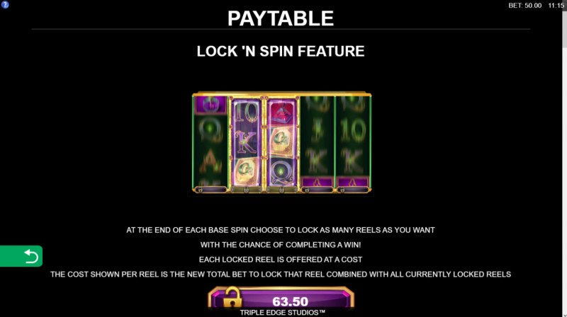 Book of Oz Lock 'N Spin :: Lock and Spin Feature