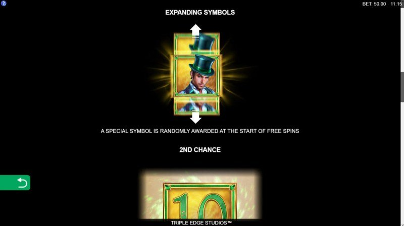 Book of Oz Lock 'N Spin :: Expanding Symbol Feature
