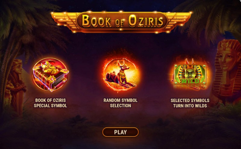 Play slots at Spintropolis: Spintropolis featuring the Video Slots Book of Oziris with a maximum payout of $3,750