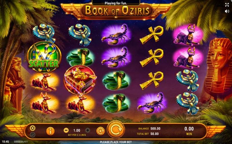 Book of Oziris :: Main Game Board