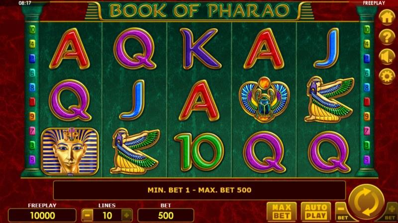 Book of Pharao :: Main Game Board