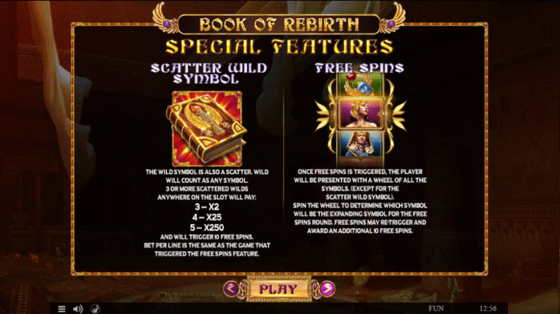 Book of Rebirth :: Feature Rules