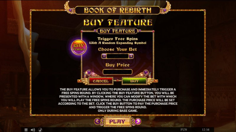 Book of Rebirth :: Buy Feature