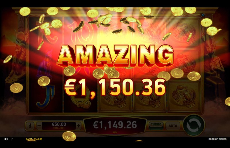 Book of Riches :: Amazing Win
