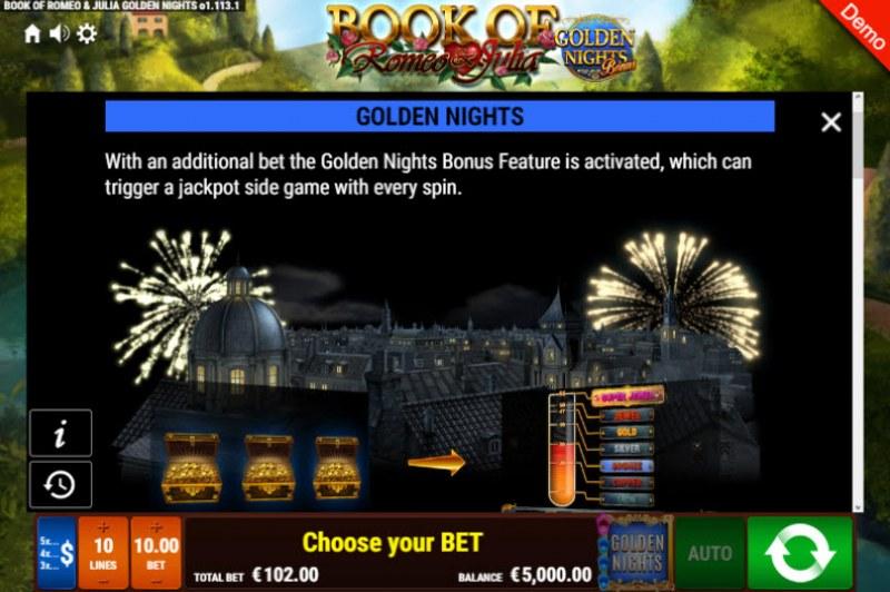 Book of Romeo & Julia Golden Nights Bonus :: Golden Nights Bonus Feature