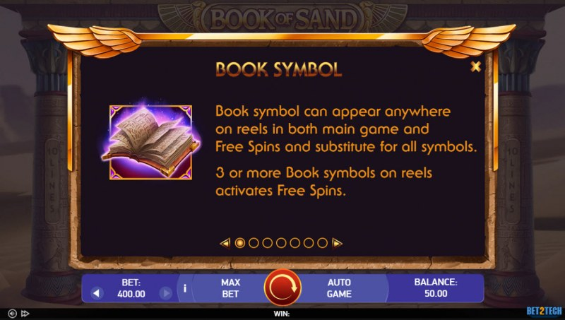 Book of Sand :: Wild and Scatter Rules
