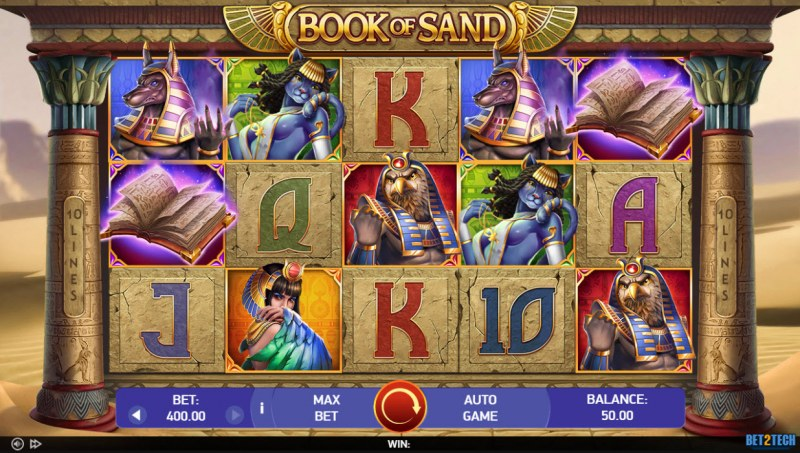 Book of Sand :: Main Game Board