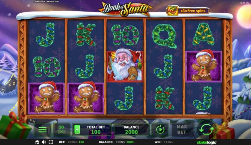 Book of Santa :: Main Game Board