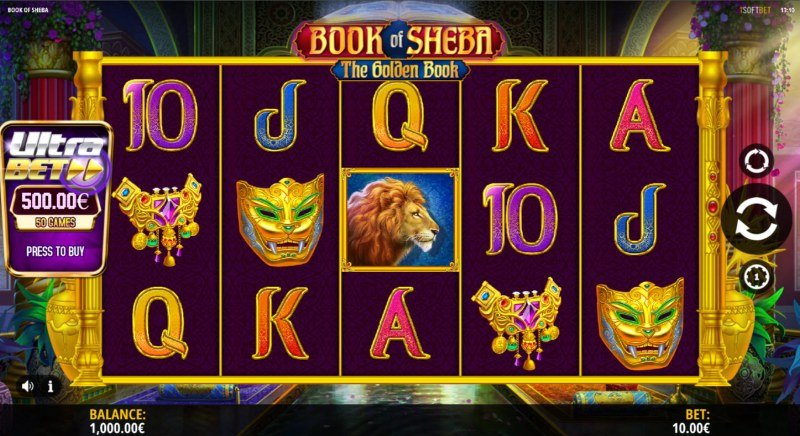 Book of Sheba The Golden Book :: Main Game Board