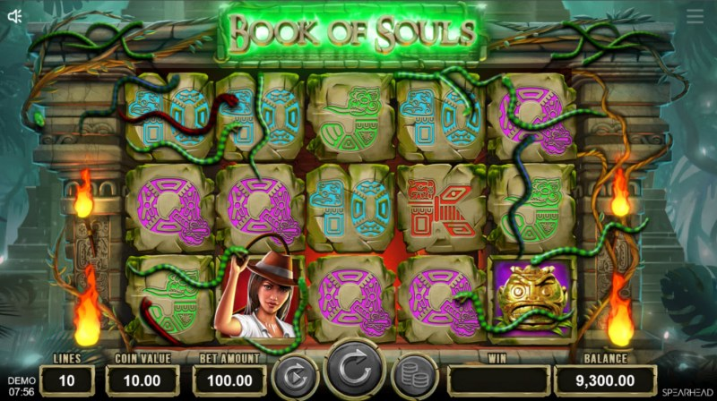Book of Souls :: Wild feature randomly activates during any spin