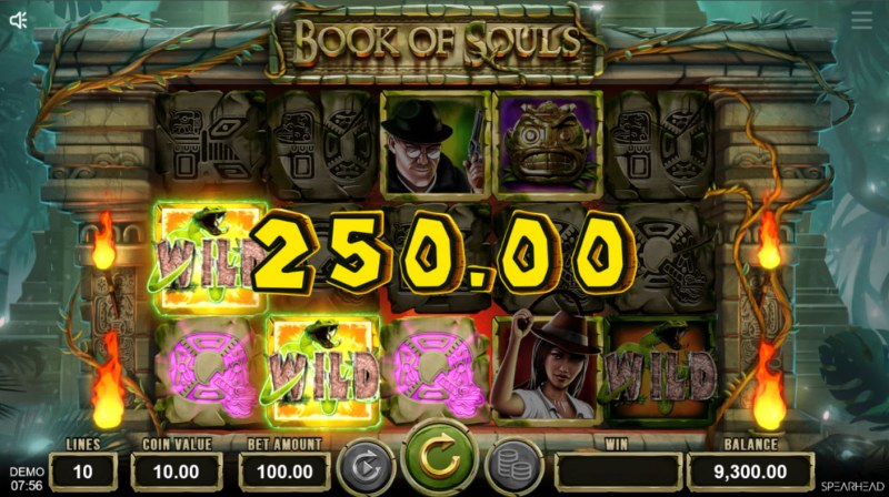 Book of Souls :: Multiple winning paylines