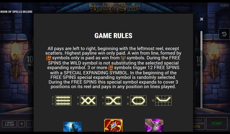 Book of Spells Deluxe :: General Game Rules
