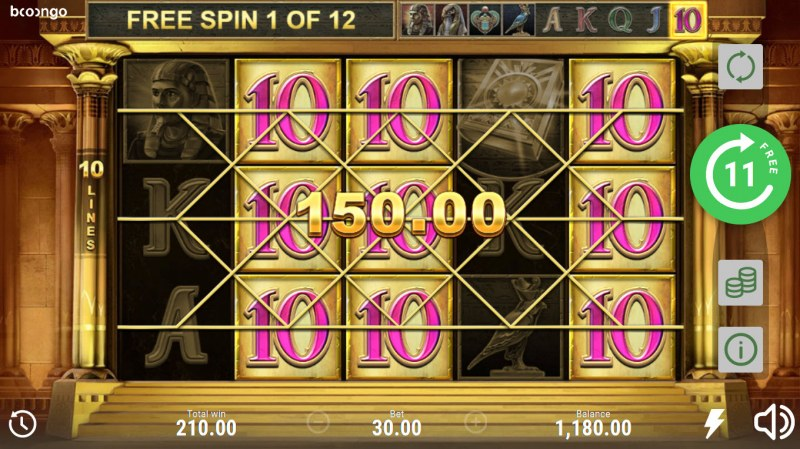 Book of Sun Multi Chance :: Multiple winning combinations lead to a big win