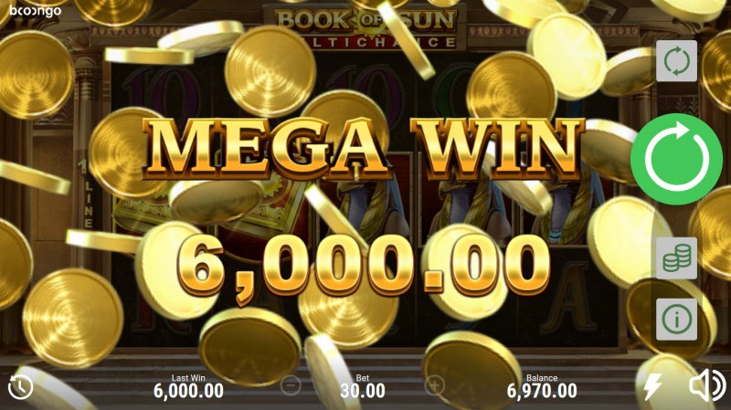 Book of Sun Multi Chance :: Mega Win