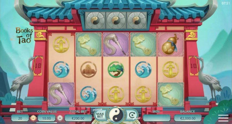 Book of Tao :: Main Screen