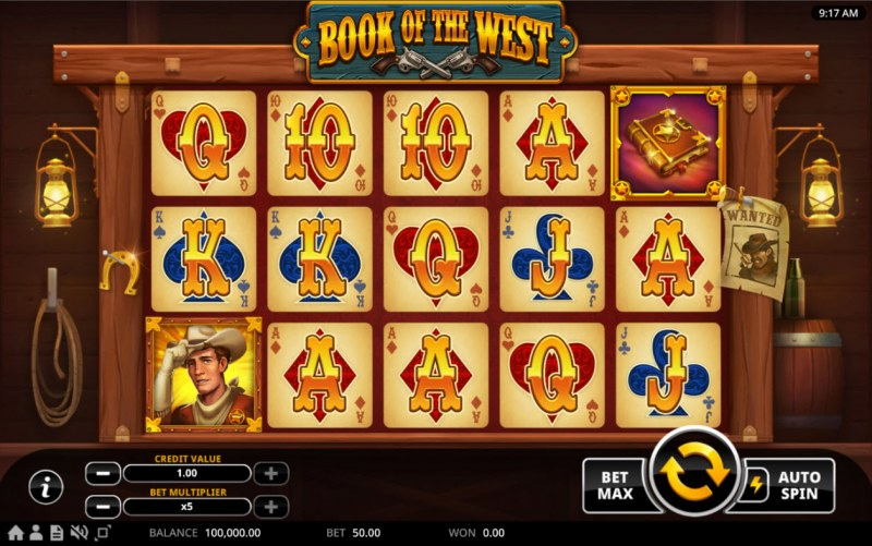 Book of the West :: Base Game Screen