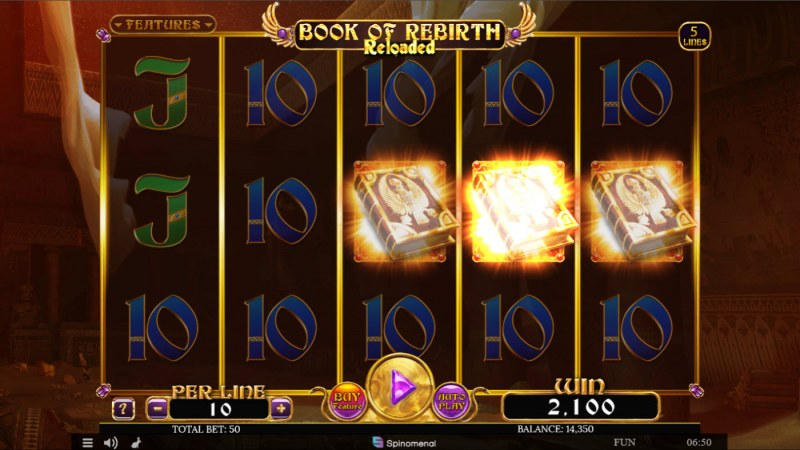Book of Tribes Reloaded :: Scatter symbols triggers the free spins bonus feature