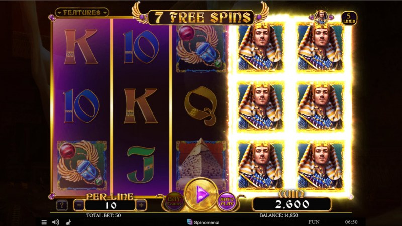 Book of Tribes Reloaded :: Free Spins Game Board
