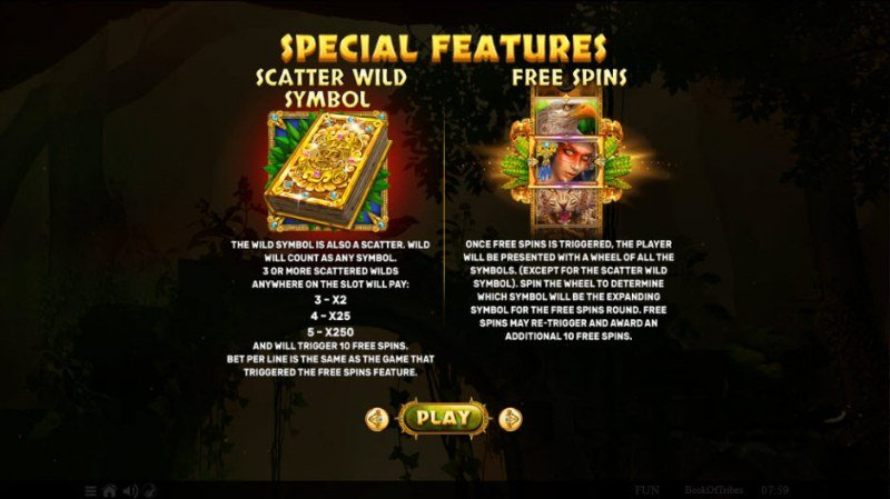 Book of Tribes :: Feature Rules