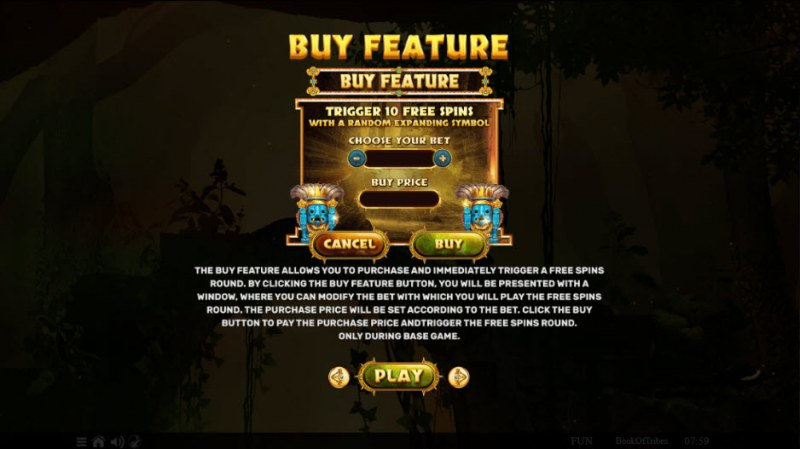 Book of Tribes :: Buy Feature