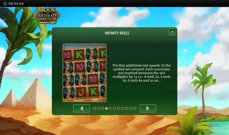Book of Ultimate Infinity :: Infinity Reels