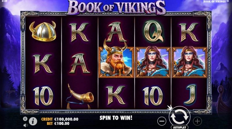Book of Vikings :: Main Game Board