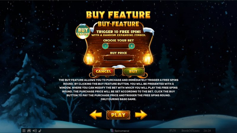 Book of Xmas :: Buy Feature