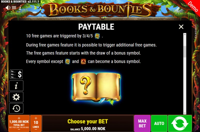 Books & Bounties :: Feature Rules