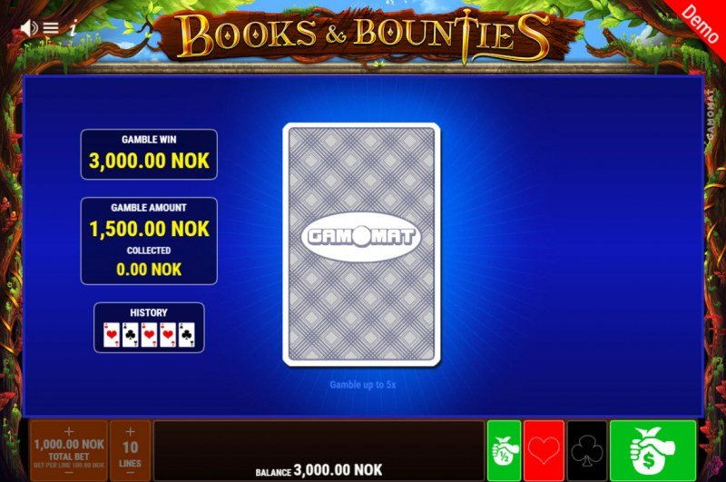 Books & Bounties :: Red or Black Gamble Feature