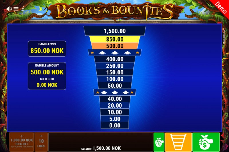 Books & Bounties :: ladder Gamble Feature