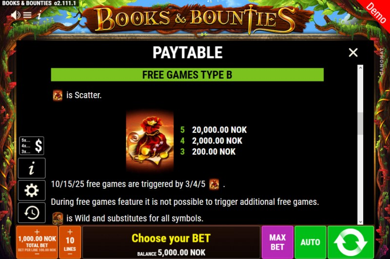 Books & Bounties :: Free Game Rules