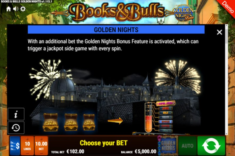 Books & Bulls Golden Nights Bonus :: Golden Nights Bonus