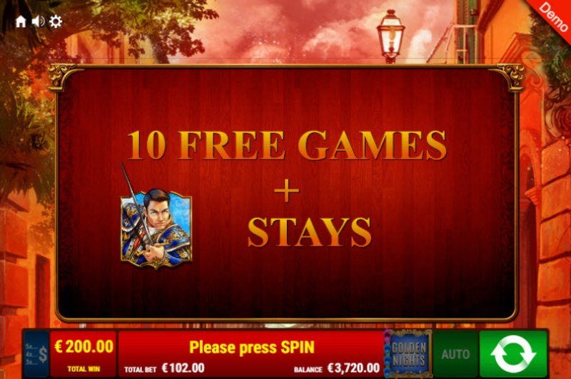 Books & Bulls Golden Nights Bonus :: 10 Free Spins Awarded