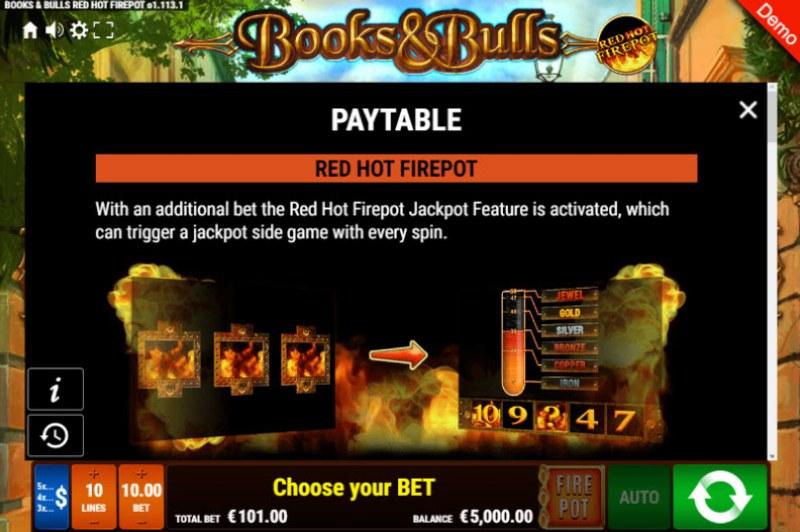Books & Bulls Red Hot Firepot :: Red Hot Firepot