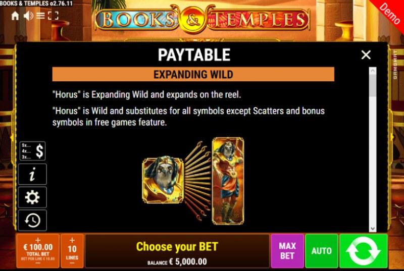 Books & Temples :: Wild Symbols Rules