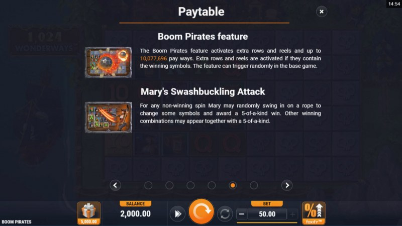 Boom Pirates :: Feature Rules