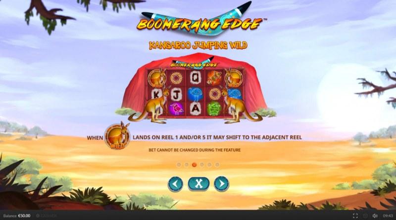 Boomerang Edge :: Kangaroo Jumping Wild