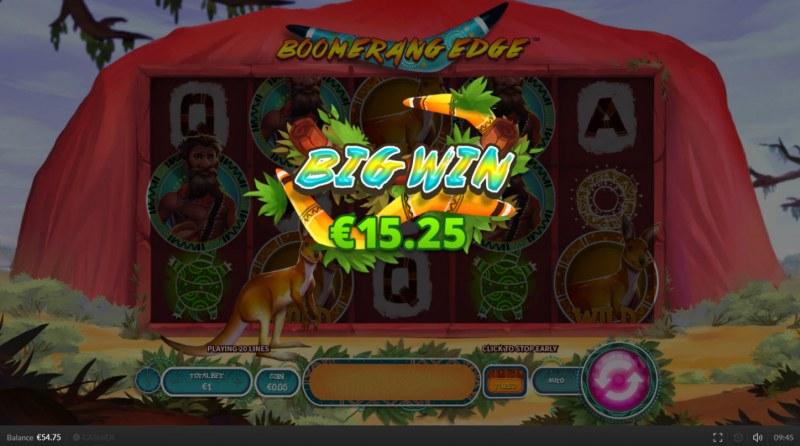 Boomerang Edge :: Big Win