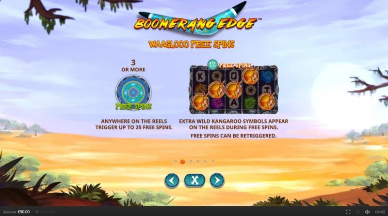 Boomerang Edge :: Waaglooo Free Spins