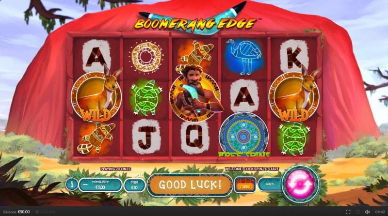Boomerang Edge :: Main Game Board