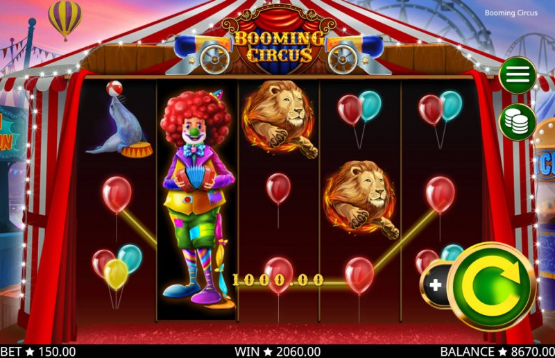 Booming Circus :: Five of a kind