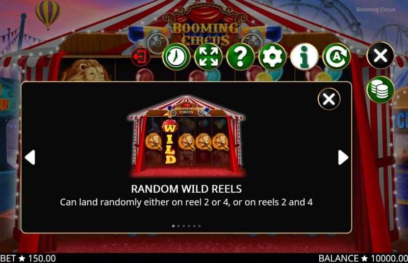 Booming Circus :: Wild Symbols Rules