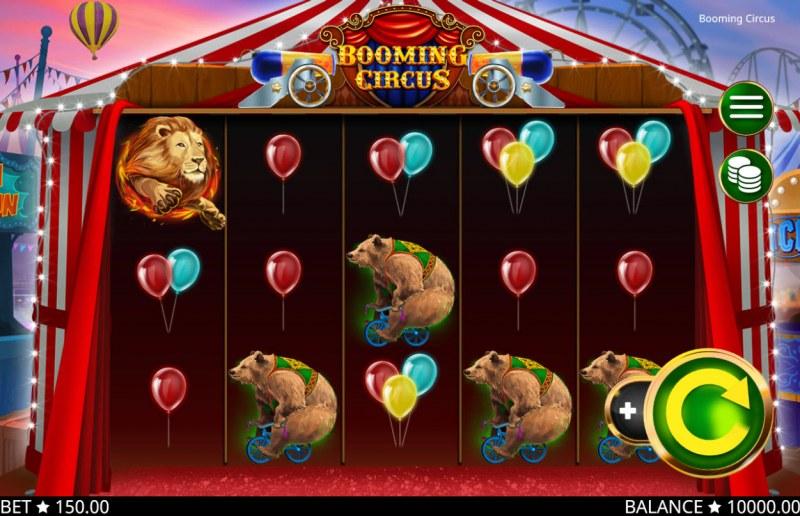 Booming Circus :: Main Game Board