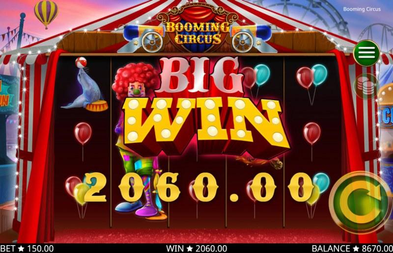 Booming Circus :: Big Win