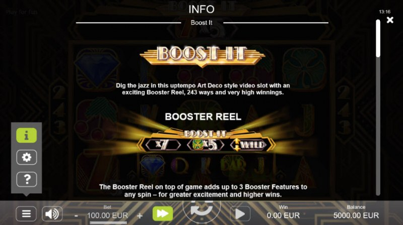 Boost It :: Feature Rules