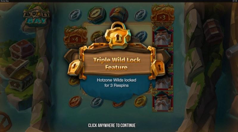 Booty Bay :: Triple Wild Lock Feature